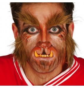Dentier dents loup-garou