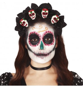 Serre-tête Catrina La Mort Mexicaine