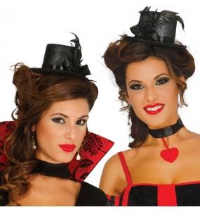 Mini Chapeau noir Cabaret