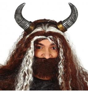 Serre-tête Cornes Viking