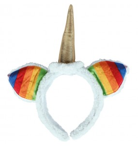 Serre-tête Licorne Multicolore