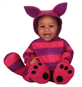 Déguisement Chat Cheshire bébé