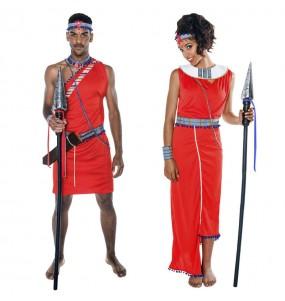 Déguisements Guerriers Kényens Masaï
