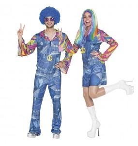 Déguisements Hippies Jeans
