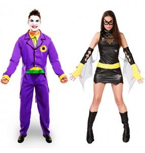 Déguisements Joker et Batwoman