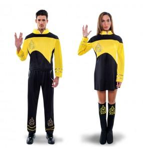 Déguisement Star Trek Jaunes