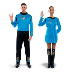 Déguisements Star Trek Bleus
