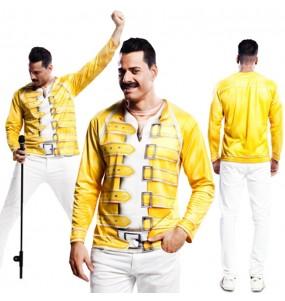 Tee-shirt hyperréaliste Freddie Mercury