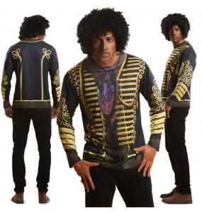 Tee-shirt hyperréaliste Jimi Hendrix