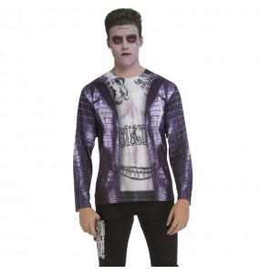 Déguisement Tee-shirt Joker Suicide Squad adulte