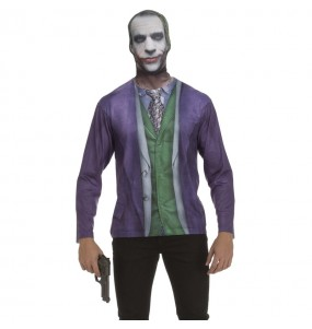 Déguisement Tee-shirt Joker Batman adulte