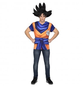 Tee shirt déguisement Son Goku Dragon Ball adulte