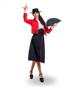 Déguisement Cordouane Flamenco Rouge pour femme