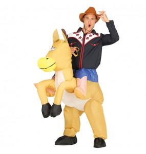 Déguisement Porte Moi Cow Boy Gonflable