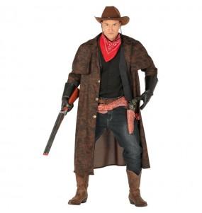 Déguisement veste Cowboy homme