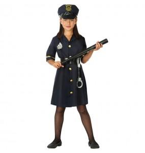 Déguisement Agent de police fille