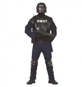 Déguisement Agent SWAT homme