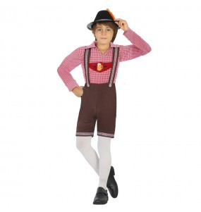 Déguisement Bavarois Allemand Oktoberfest pour garçon