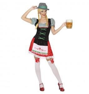 Déguisement Allemande fête de la bière femme