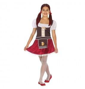 Déguisement Bavaroise Allemande Oktoberfest pour fille
