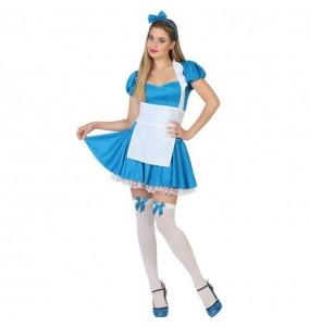 Déguisement Alice au Pays des Merveilles femme