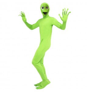 Déguisement Alien Vert DAME TU COSITA adulte