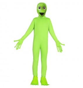 Déguisement Alien Vert DAME TU COSITA enfant