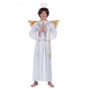 Déguisement Ange Noël avec ailes adulte