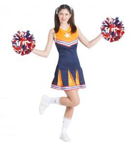 Déguisement Cheerleader américaine femme