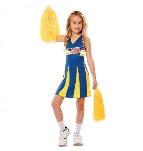 Déguisement Cheerleader américaine fille