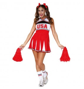 Déguisement Cheerleader USA adulte