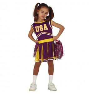 Déguisement Cheerleader États Unis fille