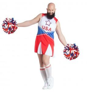 Déguisement Cheerleader Travesti homme