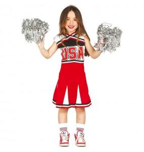 Déguisement Cheerleader USA enfant
