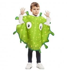 Déguisement Bactérie verte enfant