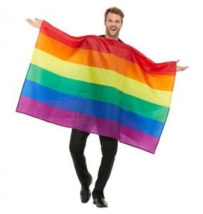Déguisement Drapeau Gay Pride adulte
