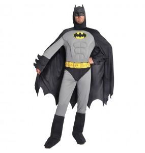Déguisement Batman musclé gris homme