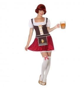 Déguisement Bavaroise Allemande Oktoberfest pour femme
