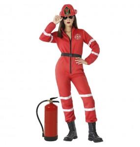 Déguisement Pompière chef femme