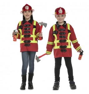 Déguisement Pompier avec accessoires pour enfants