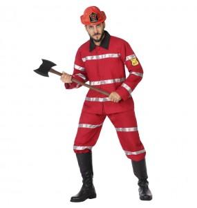 Déguisement Pompier chef homme