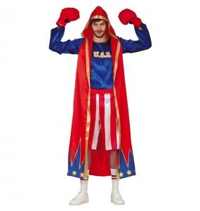 Déguisement Boxeur américain homme