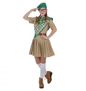 Déguisement Boy Scout pour femme