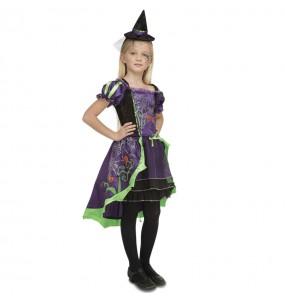 Déguisement Sorcière Demoiselle Halloween pour fille