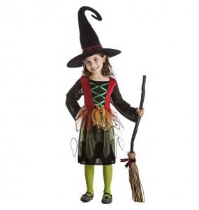 Déguisement Sorcière magicienne fille
