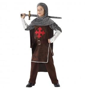 Déguisement Chevalier Médiéval des Croisés garçon