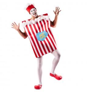 Déguisement Popcorn pour adulte