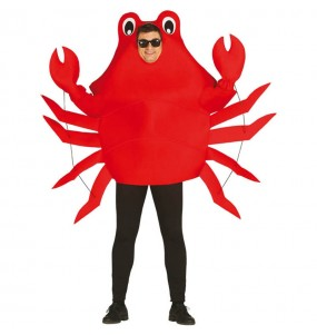 Déguisement Crabe Rouge adulte