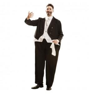 Déguisement Gros Chanteur Opéra Pavarotti adulte