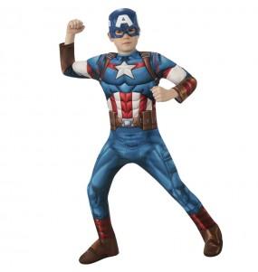 Déguisement Captain America classic garçon